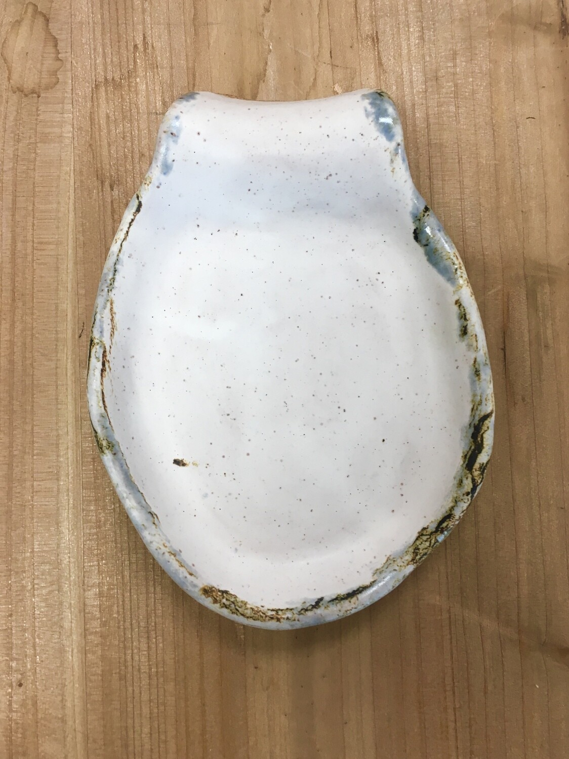 Solid White Spoon Rest