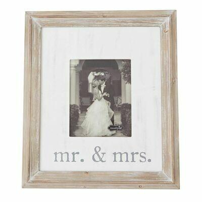 Mr. & Mrs. Large Wood Frame