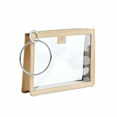 Clear Big O Bracelet Bag