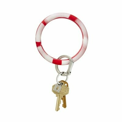 Cherry on Top Marble Silicone Key Ring
