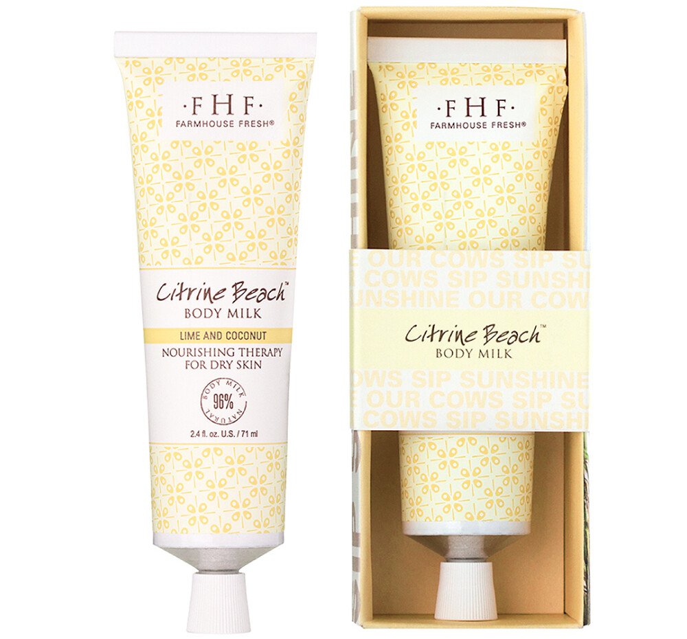 Citrine Beach Shea Butter Hand Cream