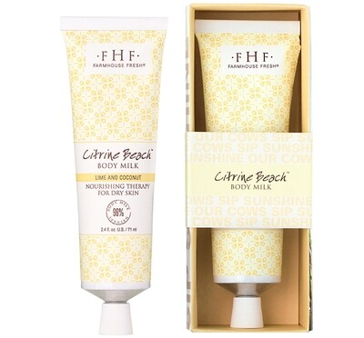 Citrine Beach Shea Butter Hand Cream