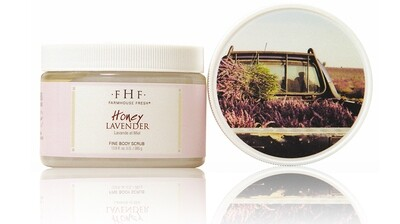 Honey Lavender Body Scrub