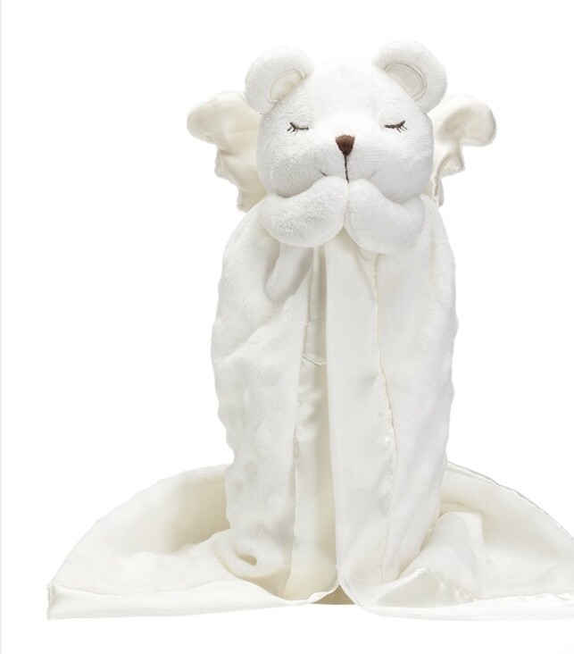 Prayer Bear Mini Blanket