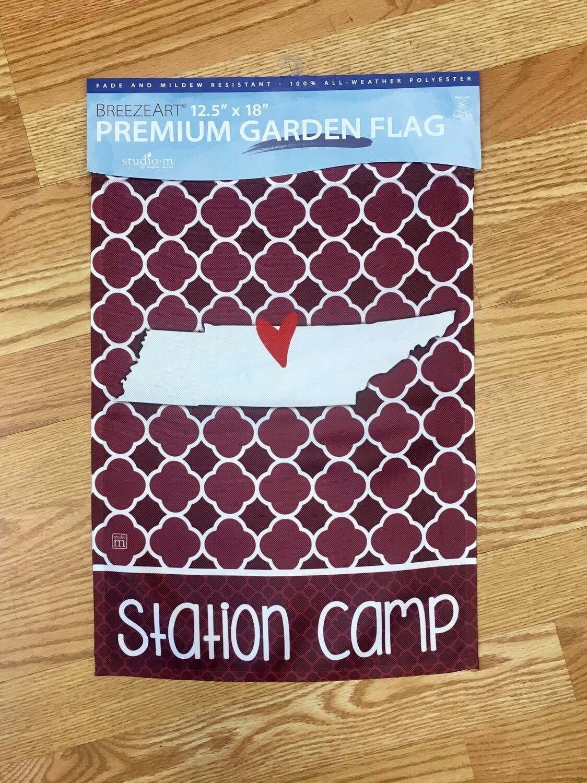 Station Camp Garden Flag