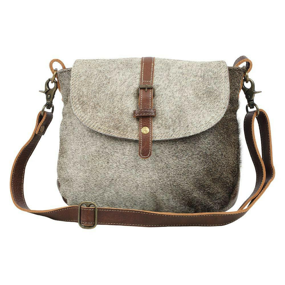 Overlap Shoulder Bag
