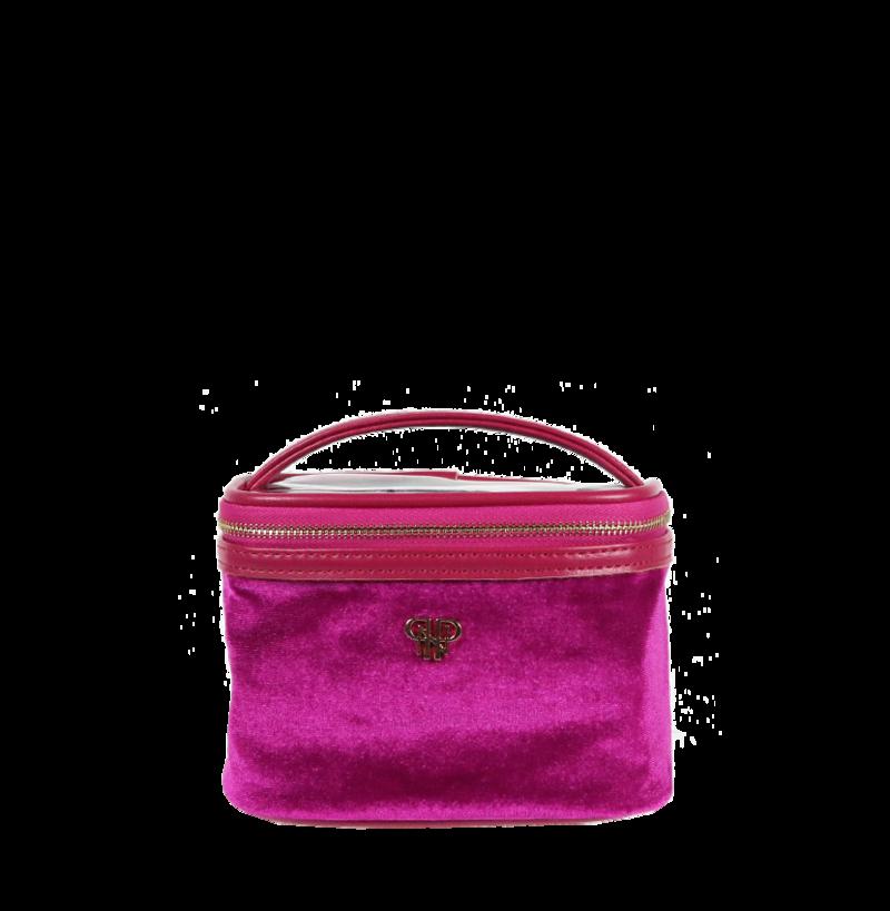 Getaway Jewelry Case-Velvet Fuchsia