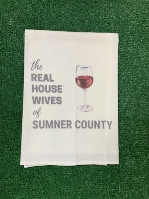 Real Housewives of Sumner County Kitchen Towel