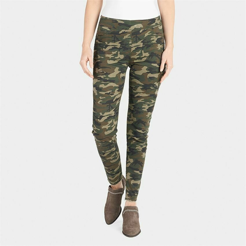 Dark Camo Distressed Jeans