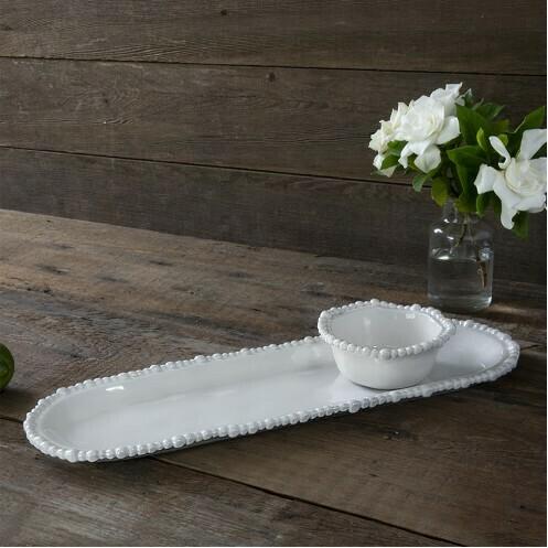 Beaded Baguette Platter