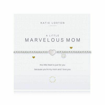 a little Marvelous Mom bracelet