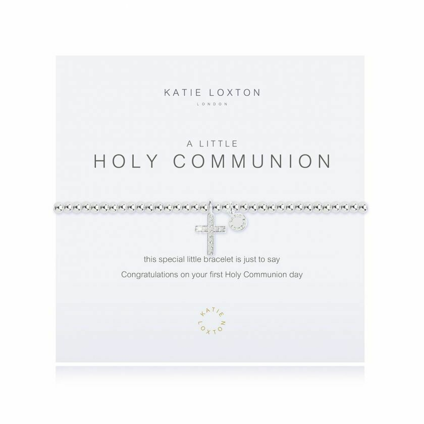 a little Holy Communion bracelet