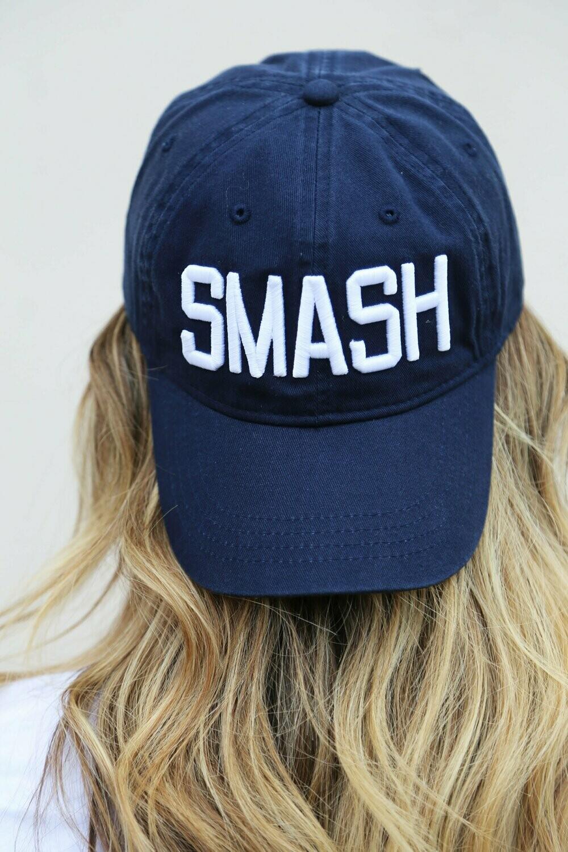 SMASH Original Ball Cap- Navy