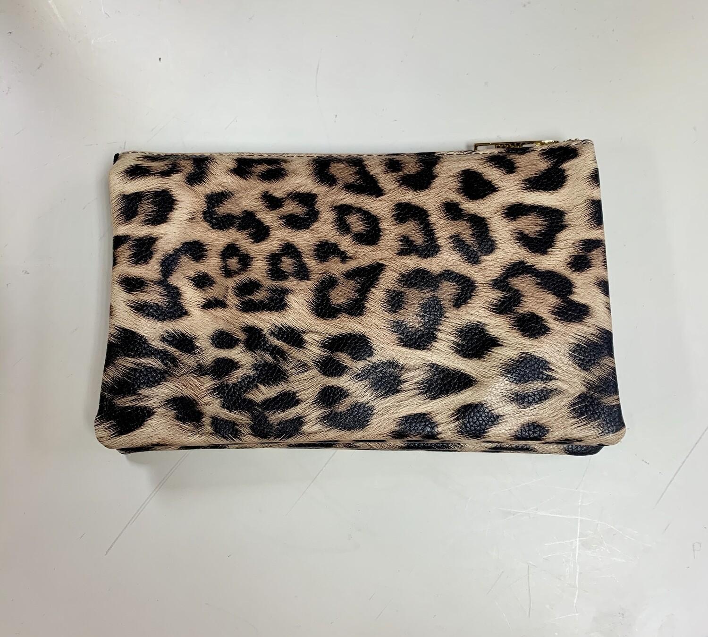 Leopard Jackie Crossbody/Wristlet