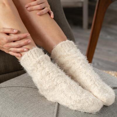 Cream Giving Socks