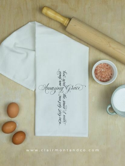 Amazing Grace Kitchen Towel