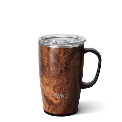 Natural Wood 18oz Tall, Skinny Mug