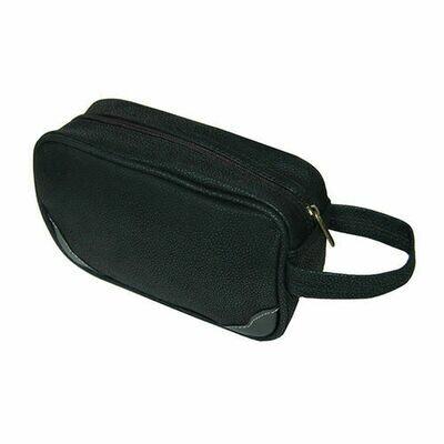 Black Toiletries Case/Dopp Kit