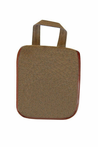 Dark Brown Men's Hanging Toiletries Case
