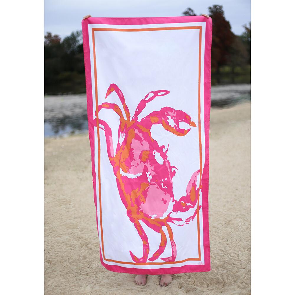 Microfiber Crab Towel
