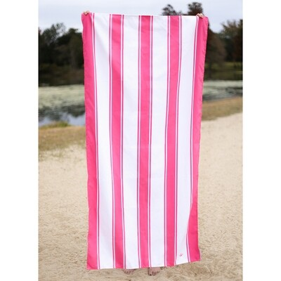 Microfiber St. Augustine Hot Pink Towel