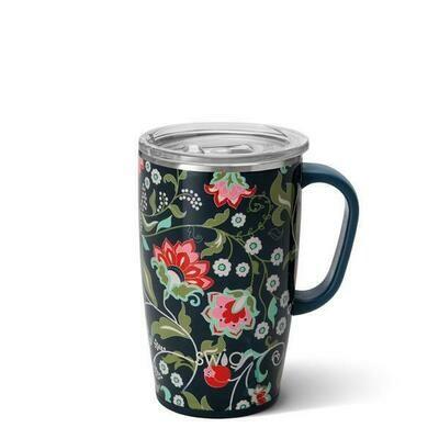 Lotus Blossom Travel Mug 18 oz