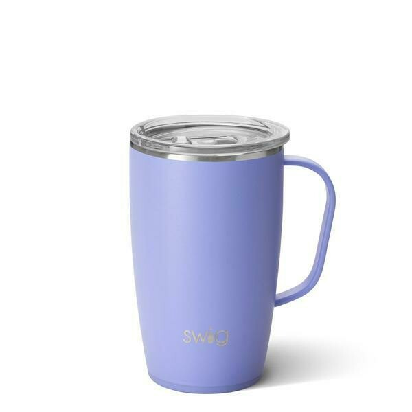 Matte Hydrangea Travel Mug 18 oz