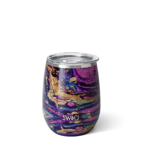 Purple Reign Stemless Wine Cup 14 oz