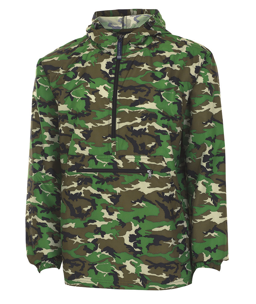 Camo Pack-N-Go Pullover
