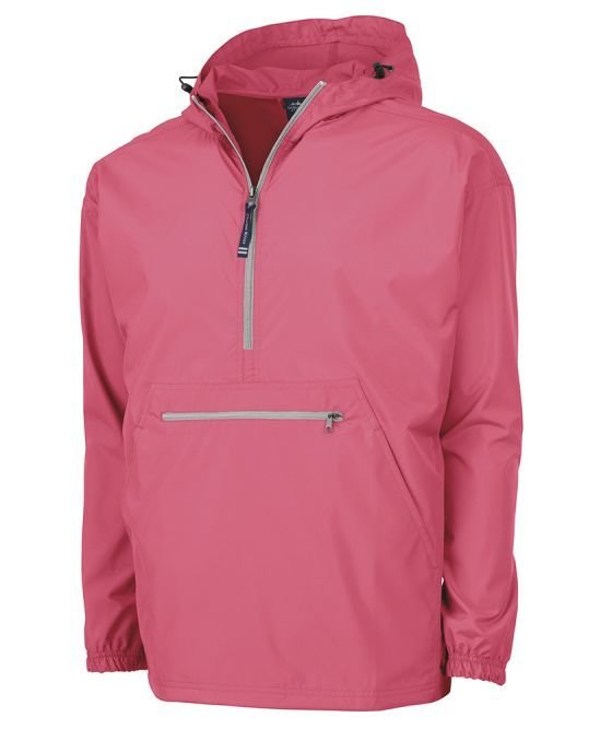 Coral Pack N Go Pullover