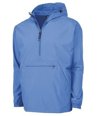 Columbia Blue Pack N Go Pullover