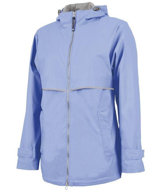 Periwinkle Woman's New Englander Rain Jacket