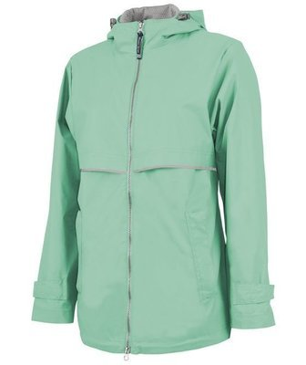 Mint Women's New Englander Rain Jacket