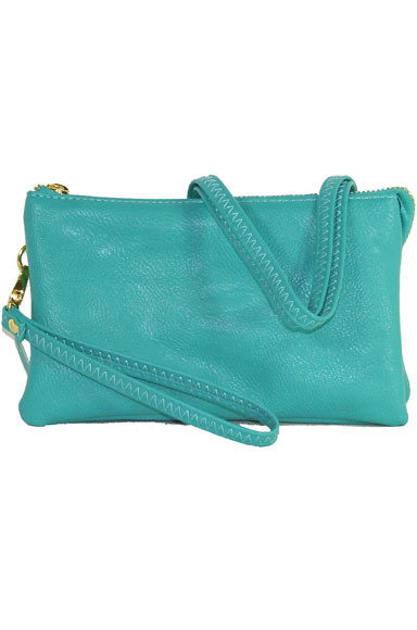 Jackie Crossbody/Wristlet Light Blue