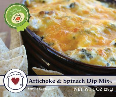 Artichoke & Spinach Dip Mix