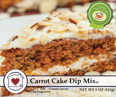 Carrot Cake Dip Mix