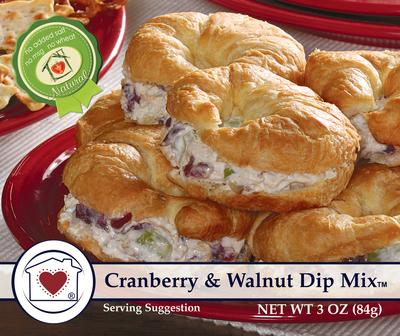 Cranberry & Walnut Dip Mix