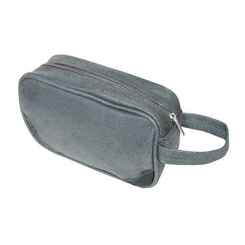 Aspen Grey Toiletries Case/Dopp Kit