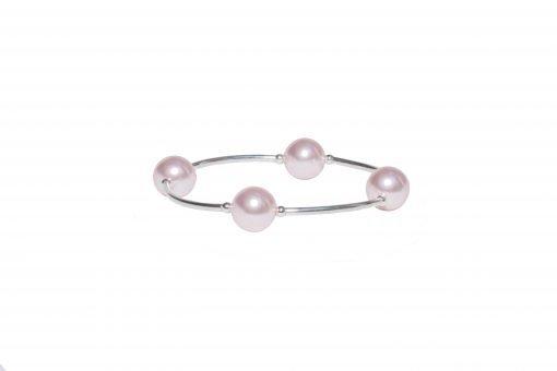 Pink Pearl Blessing Bracelet