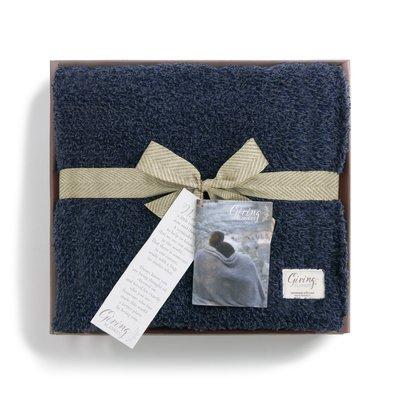 Navy Giving Blanket