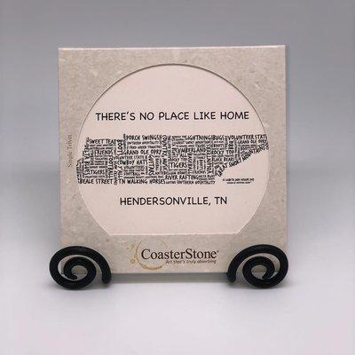 Hendersonville, TN Coaster Stone