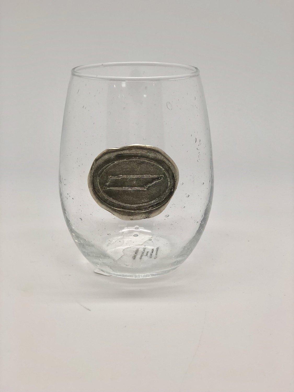 TN State Stemless Wine Glass