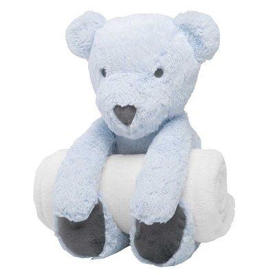 Bear Bedtime Huggie with Blanket