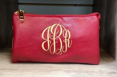 Jackie Crossbody/Wristlet Red