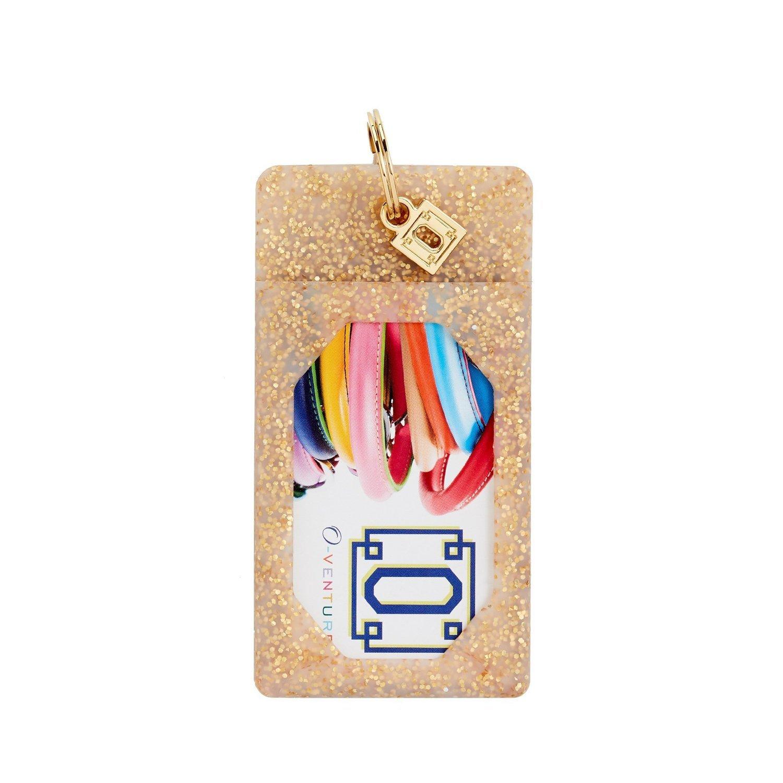 Gold Confetti ID Case