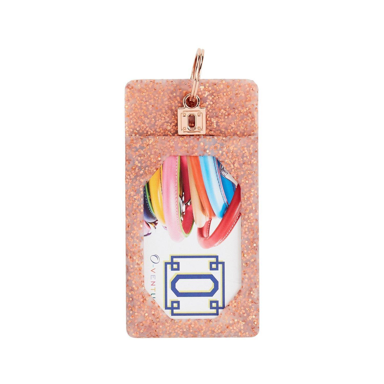 Rose Gold Confetti ID Case