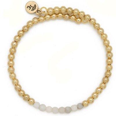 """BE THANKFUL"" Gemstone Bracelet"