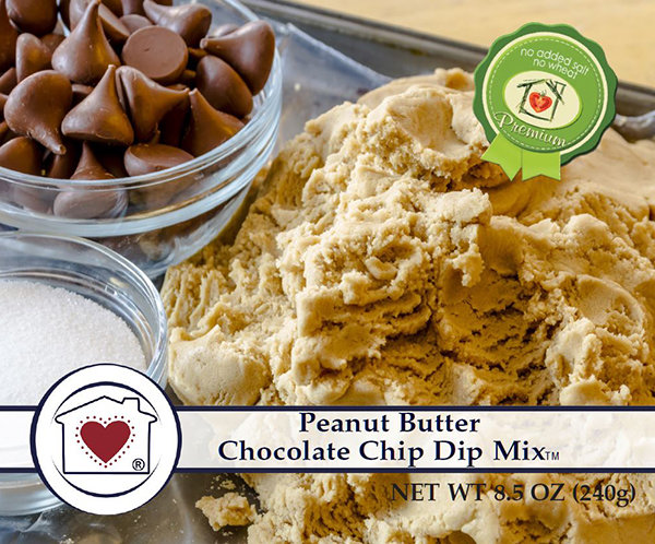 Peanut Butter Chocolate Chip Dip Mix