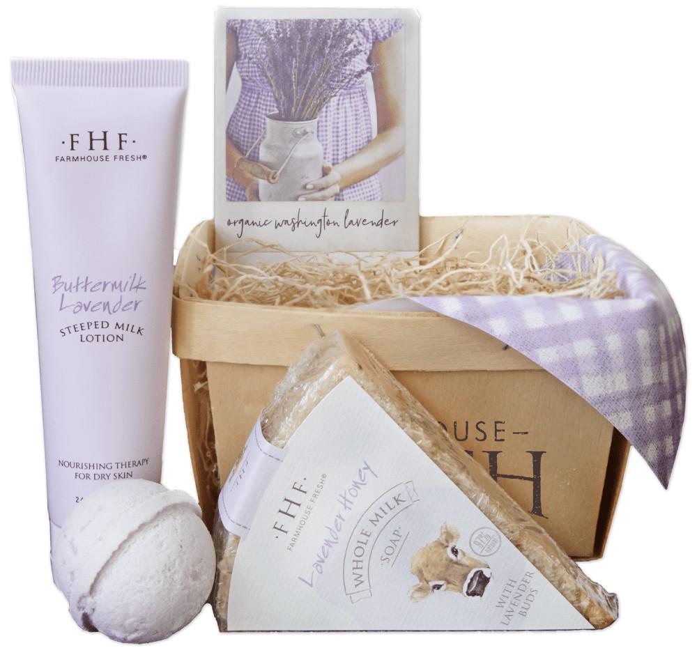 Lavender Honey Gift Basket