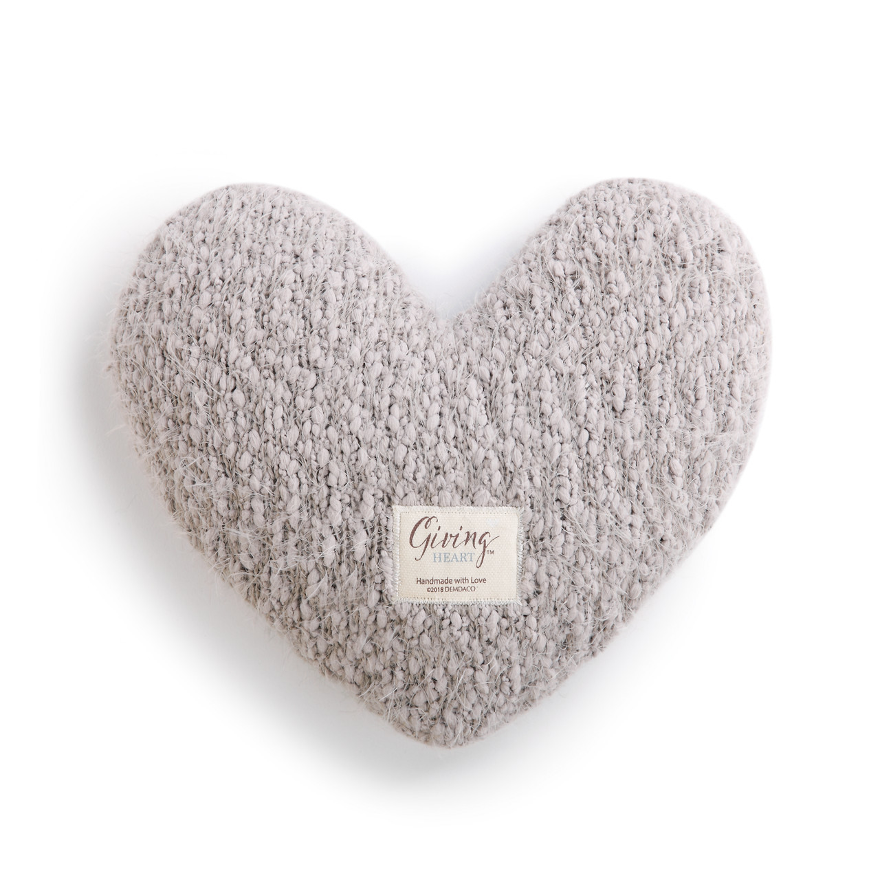 Taupe Giving Heart